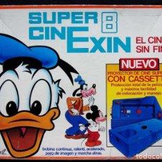 Juguetes antiguos Exin: SUPER 8 CINEXIN + 2 PELÍCULAS. CINE EXIN. . Lote 130396514