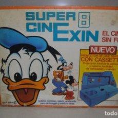 Juguetes antiguos Exin: SUPER 8 CINEXIN COMPLETO . Lote 131956918