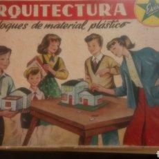 Juguetes antiguos Exin: ANTIGUA CAJA ARQUITECTURA EXIN. COMPLEMENTO NÚM. 1.. Lote 132194879