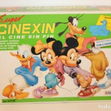 Juguetes antiguos Exin: SUPER CINEXIN AMARILLO - AÑO 80. Lote 132244418
