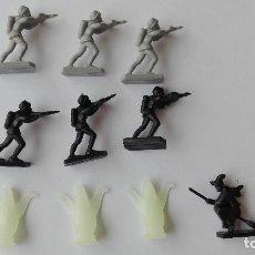 Juguetes antiguos Exin: EXIN CASTILLOS 10 FIGURAS POPULAR DE JUGUETES. Lote 132667922