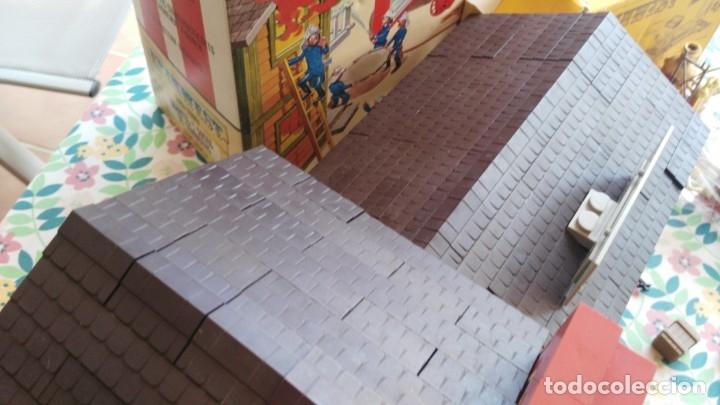 Juguetes antiguos Exin: parque de bomberos EXIN WEST EXINWEST COCHE DE BOMBEROS PERSONAJES Y MAS EN CAJA - Foto 32 - 121982847