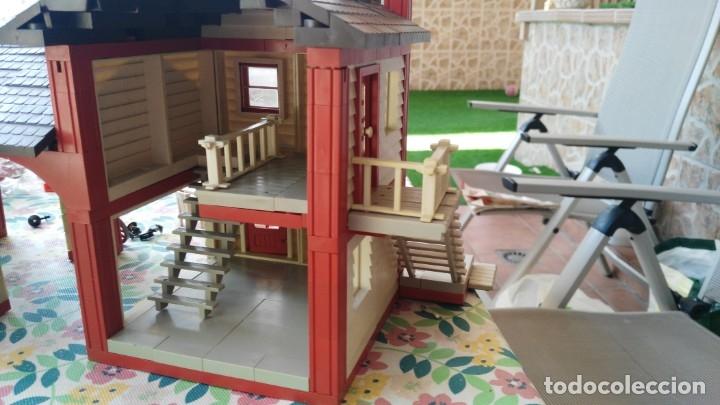 Juguetes antiguos Exin: parque de bomberos EXIN WEST EXINWEST COCHE DE BOMBEROS PERSONAJES Y MAS EN CAJA - Foto 40 - 121982847