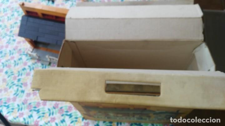 Juguetes antiguos Exin: antigua caja de exin west taverna barberia - Foto 15 - 133207530