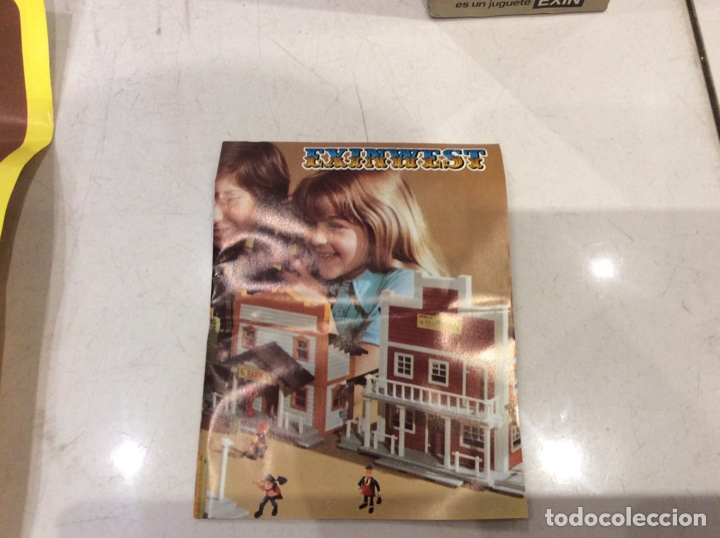 Juguetes antiguos Exin: EXINWEST BANK - Foto 5 - 133999223
