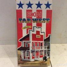 Juguetes antiguos Exin: EXIN FAR WEST HOTEL. Lote 133999933
