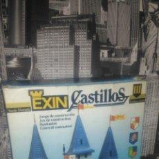 Juguetes antiguos Exin: EXIN CASTILLOS GOLDEN LLL REF 0183 INCOMPLETO Y CAJA DETERIORADA. Lote 136584766