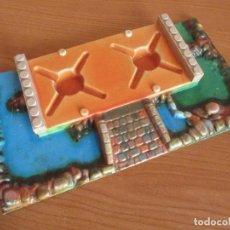 Brinquedos antigos Exin: EXIN CASTILLOS CLASICO AÑOS 70: BASE EN MUY BUEN ESTADO. Lote 137427462