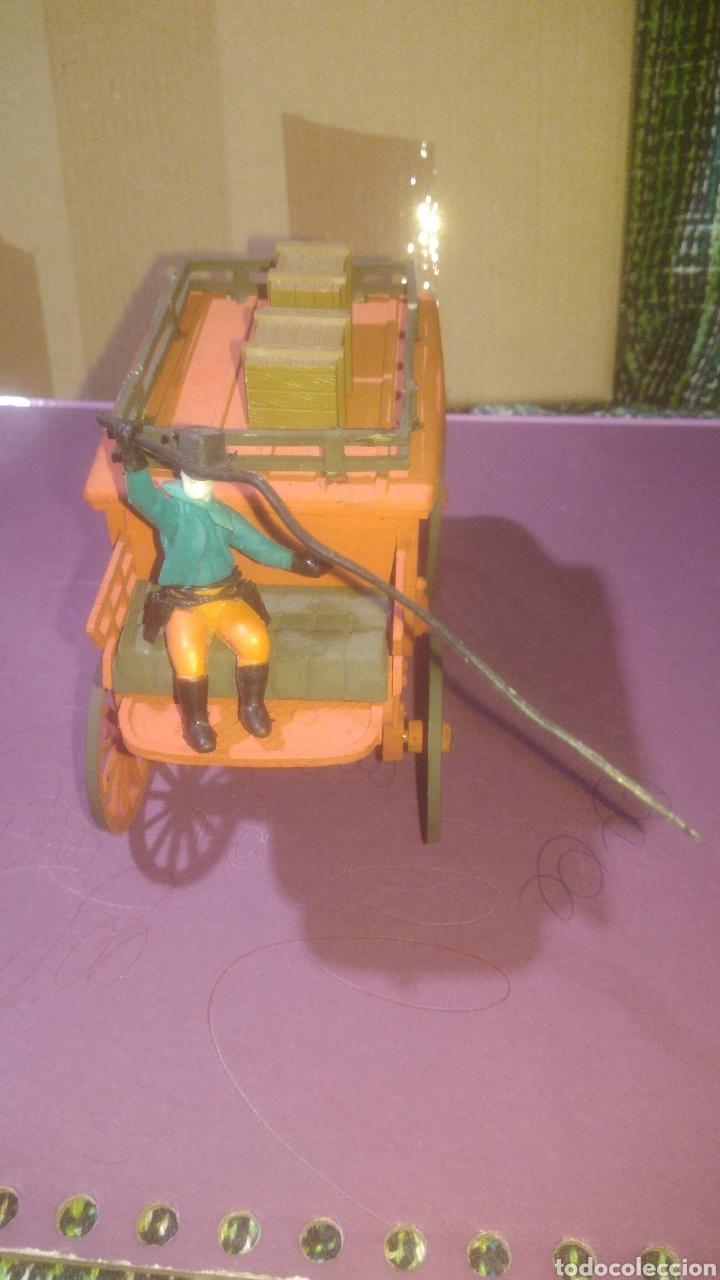 Juguetes antiguos Exin: COMANSI. DILIGENCIA - Foto 2 - 137567529