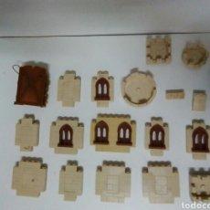 Juguetes antiguos Exin: GRAN LOTE DE PIEZAS EXIN CASTILLOS MIRAR FOTOS. Lote 137825024