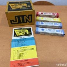 Juguetes antiguos Exin: JIN VISOR ESTEREOSCOPICO CAJA VACIA Y 4 PELICULAS. Lote 139110114