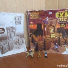 Juguetes antiguos Exin: EXIN CASTILLOS - EXIN WEST: FORT APACHE (COMPLETO). Lote 139353414