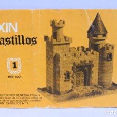 Juguetes antiguos Exin: EXIN CASTILLOS 1 REF. 0201 INSTRUCCIONES. Lote 140712478