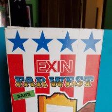 Juguetes antiguos Exin: EXIN WEST EXINWEST BANK BANCO MUY NUEVO. Lote 142562638