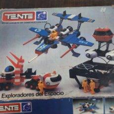 Juguetes antiguos Exin: TENTE LOS EXPLORADORES DEL ESPACIO.. Lote 151707517