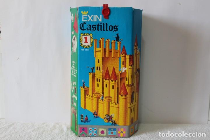 EXIN CASTILLOS SERIE AZUL. CAJA Nº 1 - COMPLETO EN EXCELENTE ESTADO (Juguetes - Marcas Clásicas - Exin)