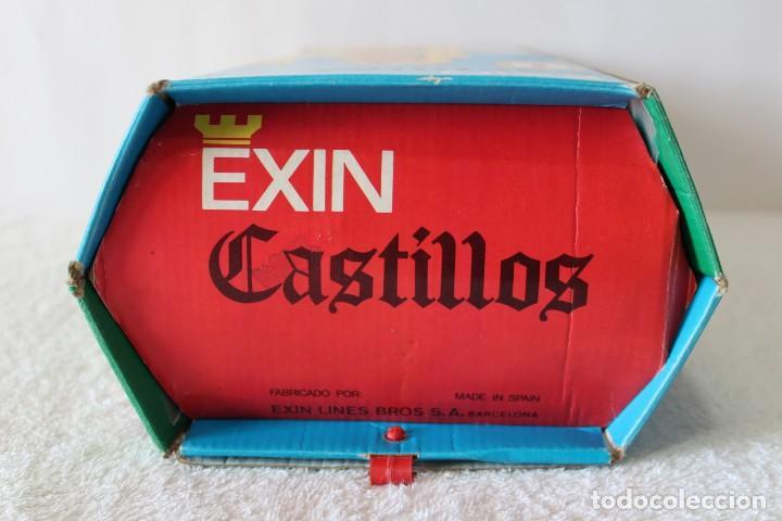 Juguetes antiguos Exin: EXIN CASTILLOS SERIE AZUL. CAJA Nº 1 - COMPLETO EN EXCELENTE ESTADO - Foto 5 - 144464922