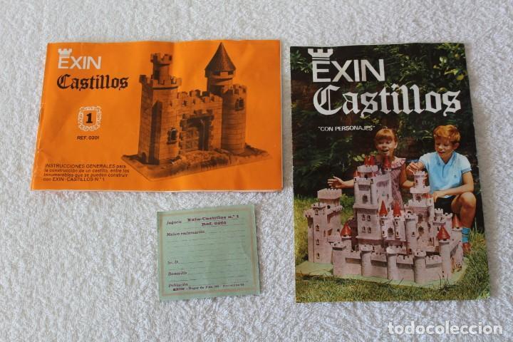 Juguetes antiguos Exin: EXIN CASTILLOS SERIE AZUL. CAJA Nº 1 - COMPLETO EN EXCELENTE ESTADO - Foto 11 - 144464922