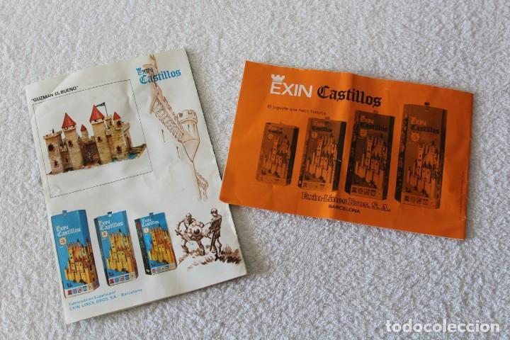 Juguetes antiguos Exin: EXIN CASTILLOS SERIE AZUL. CAJA Nº 1 - COMPLETO EN EXCELENTE ESTADO - Foto 13 - 144464922