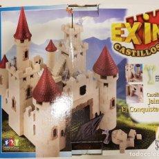 Juguetes antiguos Exin: CASTILLO DE JAIME I EL CONQUISTADOR EXIN CASTILLOS COMPLETO. Lote 145084238
