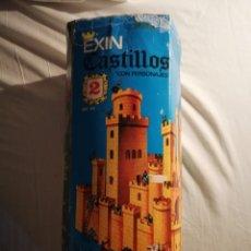 Juguetes antiguos Exin - EXIN CASTILLOS 2 se vende lo que se ve en fotos, unas 580 piezas .tapa reparada - 145555542