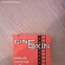 Juguetes antiguos Exin: CINEEXIN CAJA VACIA PELICULA CHARLOT CAMPEON DE BOXEO. Lote 146135810