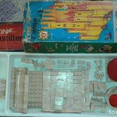 Juguetes antiguos Exin: EXIN CASTILLOS SERIE AZUL 0 REF. 0200 CON CAJA . Lote 146270546