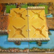 Juguetes antiguos Exin: BASES EXIN CASTILLOS SERIE AZUL 2. Lote 147319550