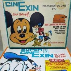 Juguetes antiguos Exin: LOTE DE CINEXIN Y SUPERCINEXIN. Lote 147380474