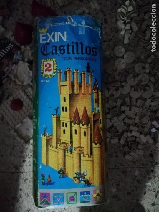 Juguetes antiguos Exin: EXIN CASTILLOS 2 se vende lo que se ve en fotos, unas 580 piezas .tapa reparada - Foto 5 - 145555542
