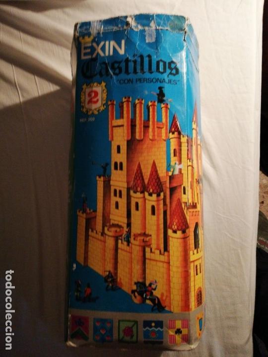 Juguetes antiguos Exin: EXIN CASTILLOS 2 se vende lo que se ve en fotos, unas 580 piezas .tapa reparada - Foto 11 - 145555542
