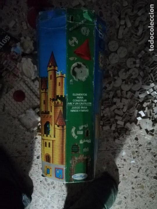 Juguetes antiguos Exin: EXIN CASTILLOS 2 se vende lo que se ve en fotos, unas 580 piezas .tapa reparada - Foto 2 - 145555542
