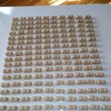 Juguetes antiguos Exin: EXIN CASTILLOS PDJ 184 PIEZAS DOBLES. Lote 147702030