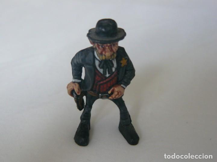 SHERIFF ORIGINAL DE EXIN WEST PINTADO EN ALTA CALIDAD (Juguetes - Marcas Clásicas - Exin)