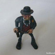 Juguetes antiguos Exin: SHERIFF ORIGINAL DE EXIN WEST PINTADO EN ALTA CALIDAD. Lote 148165658