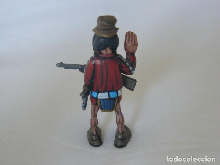 Juguetes antiguos Exin: INDIO CON RIFLE ORIGINAL DE EXIN WEST PINTADO EN ALTA CALIDAD - Foto 2 - 148168294