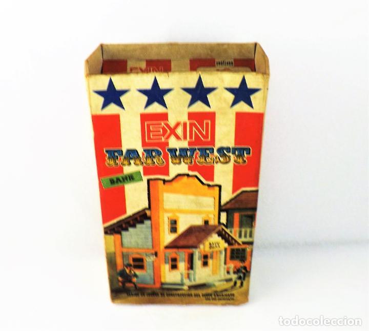 Juguetes antiguos Exin: Exin West Banco Completo e inventariado - Foto 3 - 148584718