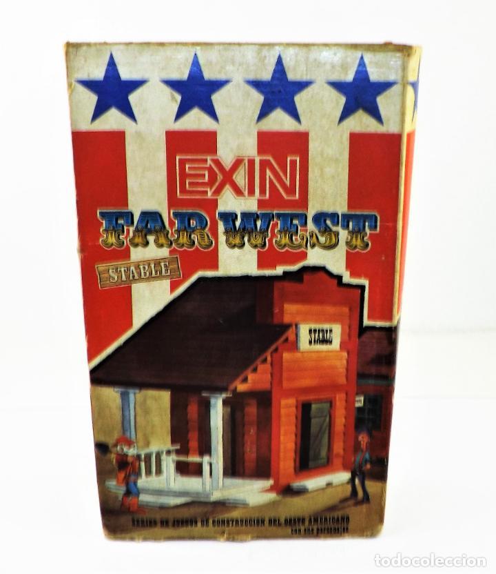 Juguetes antiguos Exin: Exin West Stable Completo e inventariado - Foto 2 - 148585186