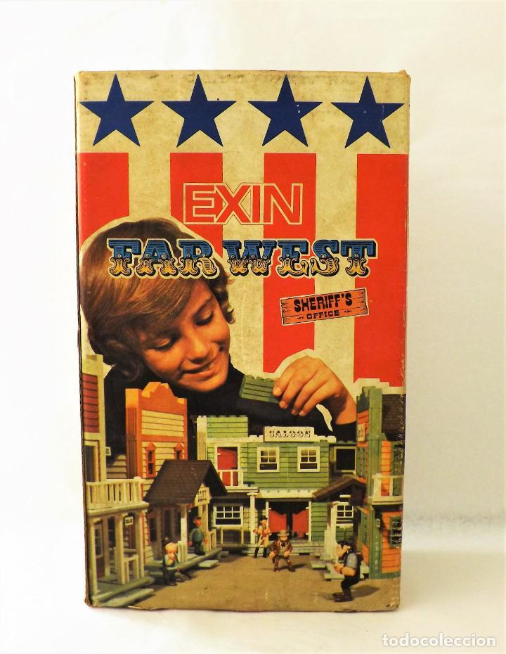 Juguetes antiguos Exin: Exin West Oficina del Sheriff Completo e inventariado - Foto 2 - 148628382