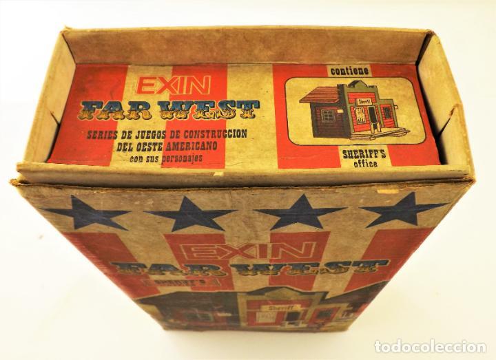 Juguetes antiguos Exin: Exin West Oficina del Sheriff Completo e inventariado - Foto 4 - 148628382