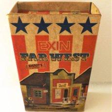 Juguetes antiguos Exin: EXIN WEST OFICINA DEL SHERIFF COMPLETO E INVENTARIADO. Lote 148628382