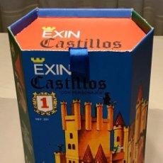 Juguetes antiguos Exin - CAJA EXIN CASTILLOS AZUL NUMERO 1. REPRODUCCION. - 149600998
