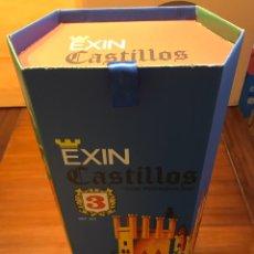 Juguetes antiguos Exin: CAJA EXIN CASTILLOS AZUL NUMERO 3. REPRODUCCION.. Lote 153573265