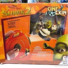 Juguetes antiguos Exin: CINE EXIN SHERK DE POPULAR DE JUGUETES. Lote 150290106