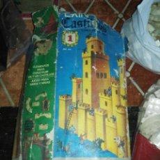 Juguetes antiguos Exin: CASTILLO EXIN Nº1 MAS LOTE PIEZAS EXTRA. Lote 151424310