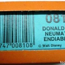 Juguetes antiguos Exin: PELÍCULA SÚPER CINEXÍN 8 CASSETTE DONALD Y EL NEUMÁTICO ENDIABLADO 0810 EN CAJA ¡NUEVA! . Lote 151429266