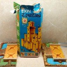 Juguetes antiguos Exin: EXIN CASTILLO Nº 2 SERIE AZUL EN CAJA Y BASE DE MONTAJE INCLUIDA * COMPLETO *. Lote 151584974