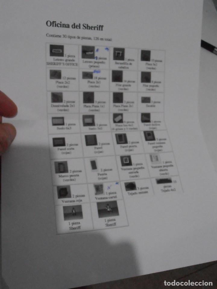 Juguetes antiguos Exin: EXIN WEST, SALOON REF 2040, COMPLETO EN CAJA ORIGINAL, AÑOS 70 - Foto 6 - 152015222