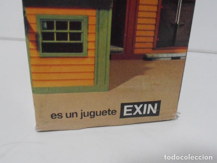 Juguetes antiguos Exin: EXIN WEST, SALOON REF 2040, COMPLETO EN CAJA ORIGINAL, AÑOS 70 - Foto 2 - 152015222