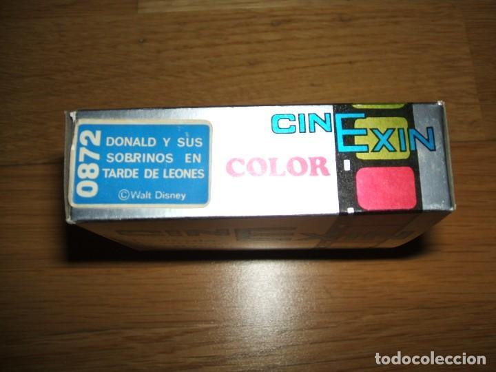 Juguetes antiguos Exin: CINE EXIN: PELICULAS : REF 0872, DONALD Y SUS SOBRINOS TARDE DE LEONES - Foto 2 - 153300070